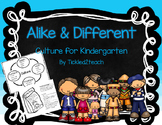 Alike and Different Culture for Kindergarten