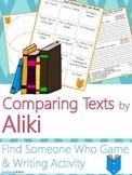 Aliki Author Study {NO PREP Writing Activities & Game}