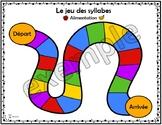 Alimentation: le jeu des syllabes