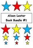 Alison Lester Book Bundle #1 - 10 Books - Comprehension & Vocab Activities