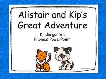 Alistair and Kip's Great Adventure, Interactive PowerPoint, Kindergarten