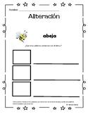 Alliteration in spanish/ Aliteracion en espanol