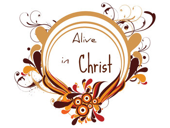 Alive in Christ 1 Printable Clip art