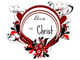 Alive in Christ 3 Printable clip art