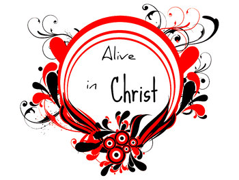 Alive in Christ 4 Printable Clip art