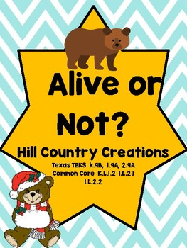 Alive or Not?  Identify the Living and Nonliving with Comm