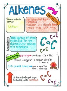 Alkenes Scribble Notes (Organic Chemistry)