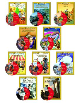 All 10 Level 5 10-chapter Classic Read-alongs with Activities and Narration