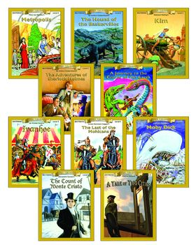All 10 Level 5 Classic Readers ePubs and PDFs