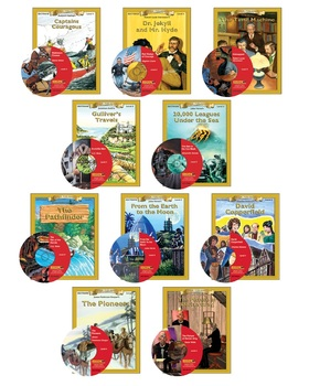 All 10 Level4 10-chapter Classic Read-alongs with Activities and Narration