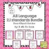 All 2.1 language standards bundle Cooperative Learning:Pee