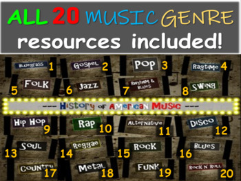 All 20 comprehensive & engaging Music History PPTs (links, handouts & more)