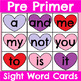 All 220 Sight Word Cards Valentine's Day