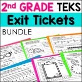 2nd Grade Math TEKS Exit Tickets