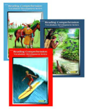 All 3 Level 3 Reading Comprehension and Vocabulary Development Books PDFs