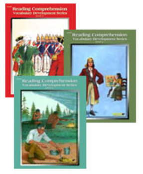 All 3 Level 4 Reading Comprehension and Vocabulary Books PDFs