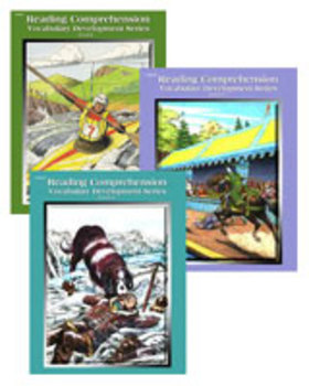 All 3 Level 6 Reading Comprehension and Vocabulary Workbooks PDFs