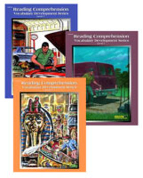 All 3 Level 7 Reading Comprehension and Vocabulary Workbooks PDFs