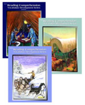 All 3 Level 8 Reading Comprehension and Vocabulary Workbooks PDFs