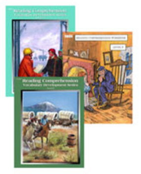 All 3 Level 9 Reading Comprehension and Vocabulary Workbooks PDFs