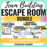 All 4 Team Building Escape Rooms - BUNDLE - ANY Content