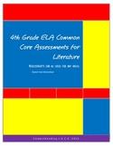 All 4th Grade ELA Common Core Standards Assessments for Li