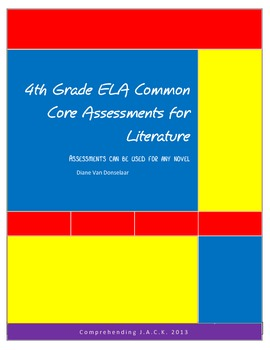 All 4th Grade ELA Common Core Standards Assessments for Li