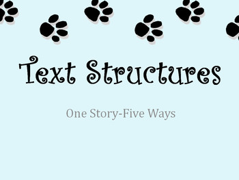 All 5 Text Structures