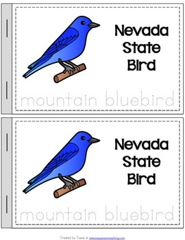 All 50 States Symbols Bundle