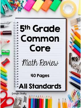 All 5th Grade Common Core Math