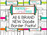 Doodle Frame Bundle- 400 Frames for Commercial Use