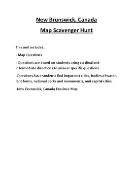 All 7 Continents Map Scavenger Hunt Bundle