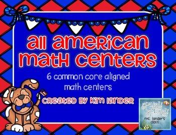 All American Math Centers Common Core Aligned