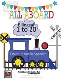 All Aboard! Bilingual Count 1-20