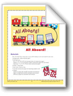 All Aboard! (Bulletin Board)