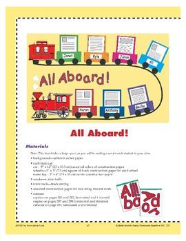 All Aboard! (Bulletin Board)