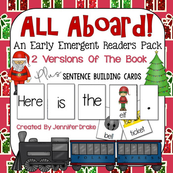 Winter Express Early Emergent Reader Pack ~All Aboard!~ Wo