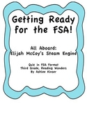 All Aboard: Elijah McCoy FSA Quiz for Reading Wonders