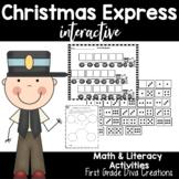 Christmas Activities ~Christmas Trains, Glyph, Christmas Writing Activities