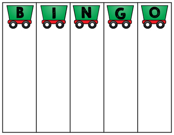 All Aboard! Polar Express Bingo