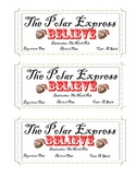 All Aboard The Polar Express - Ticket