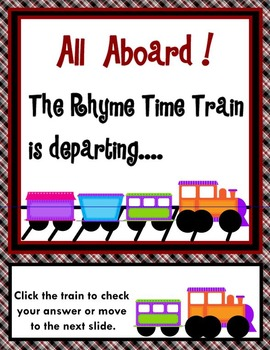 All Aboard The Rhyme Time Train