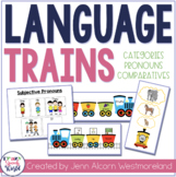 Train Themed Activities for Speech Therapy