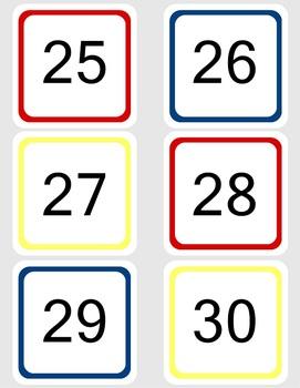 All Aboard Train Calendar Kit
