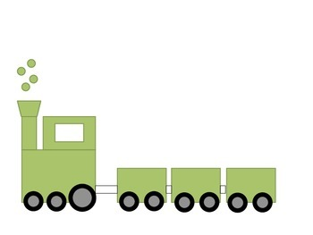 All Aboard!  Train Clipart Package - 75 Trains!