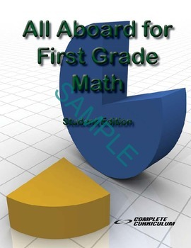 All Aboard for First Grade Math Digital Student and Teache