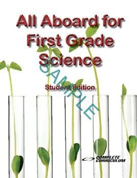 All Aboard for First Grade Science Digital Student and Teacher's Edition