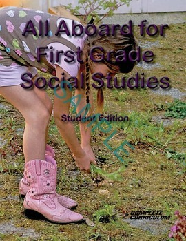 All Aboard for First Grade Social Studies Digital Student
