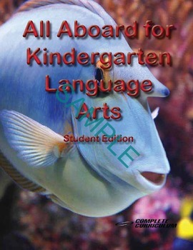 All Aboard for Kindergarten Language Arts Digital Student and Teacher's Edition
