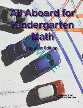 All Aboard for Kindergarten Math - Digital Student and Tea